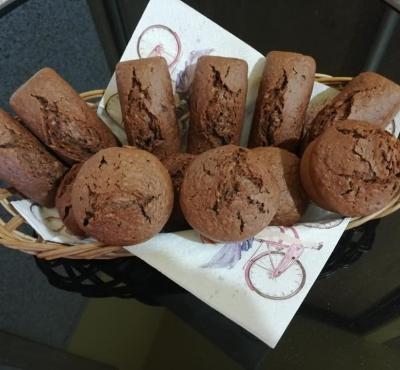 Muffinki owsiano-kakaowe