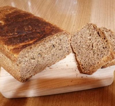 Chleb orkiszowy z niskim IG.