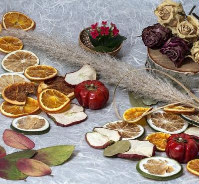 Kompot z suszonych owoców.
