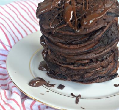 Czekoladowe pancake