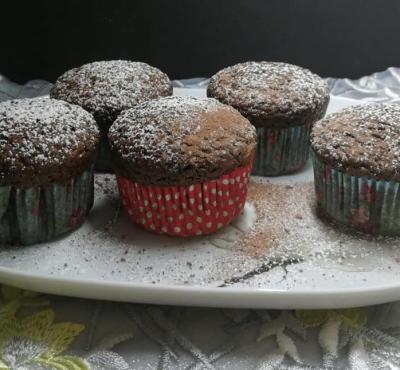 Muffinki owsiane.