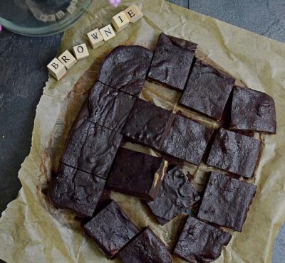 Brownie z buraka - czekoladowe ciasto z buraków