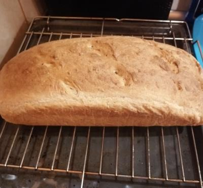 Chleb orkiszowo-pszenny