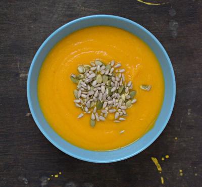 Zupa krem z marchewki i imbiru