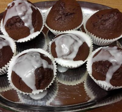 Mufinki czekoladowo- piernikowe