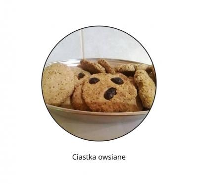 Ciastka owsiane bez cukru